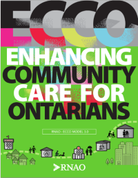 ECCO: Enhancing community care for ontarians