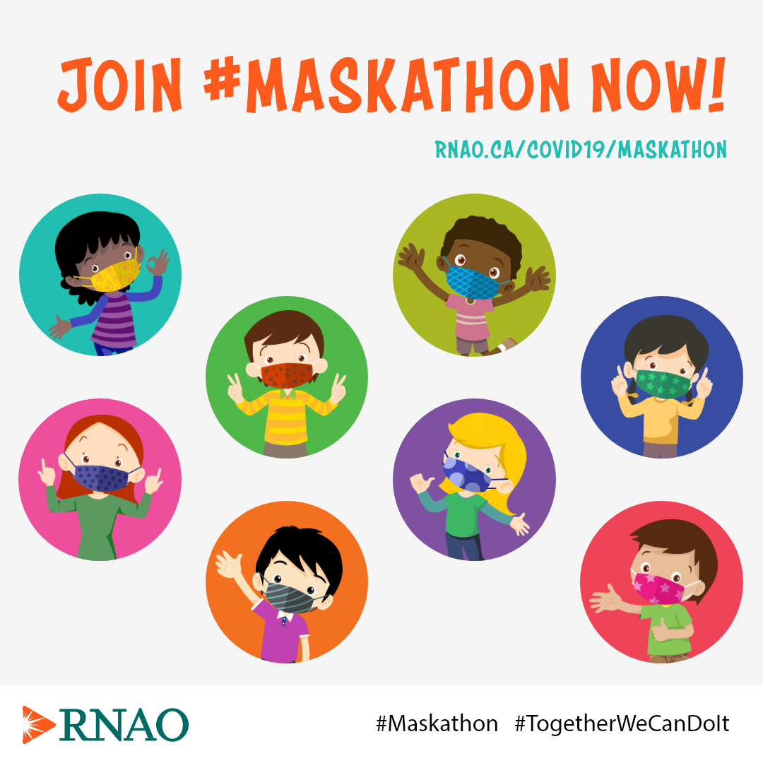 Join #Maskathon Now