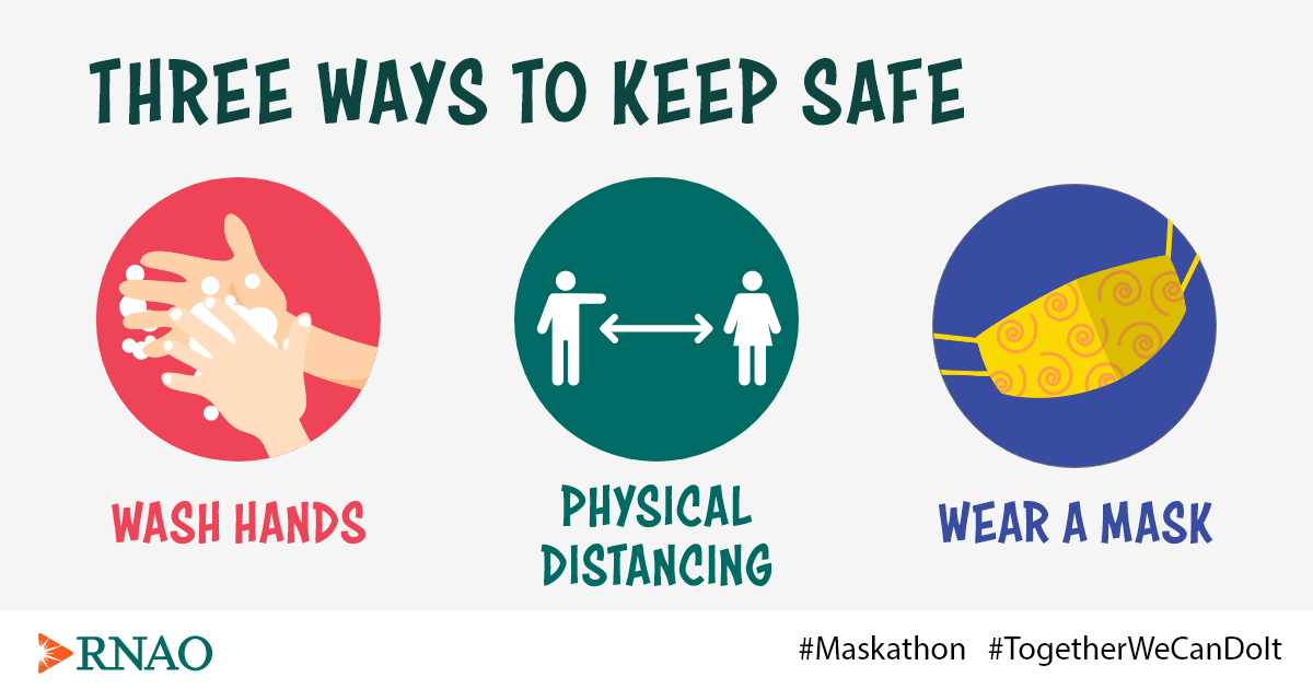 Three ways to keep safe