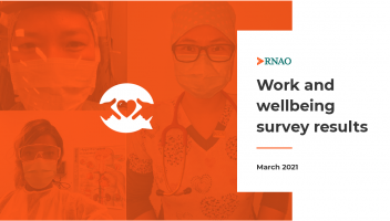 Work and wellbeing survey results