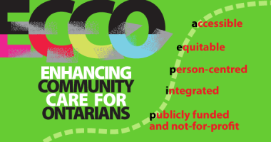 ECCO 3.0 Enhancing Community Care for Ontarians
