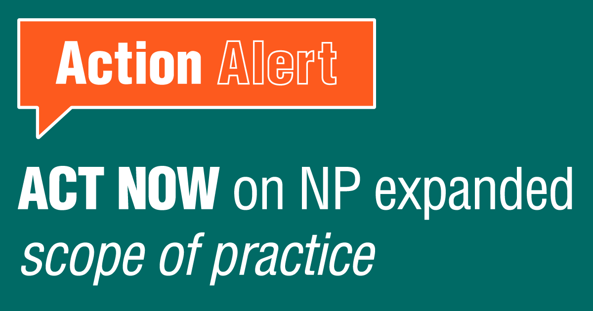 Act now on NP expanded scope of practice