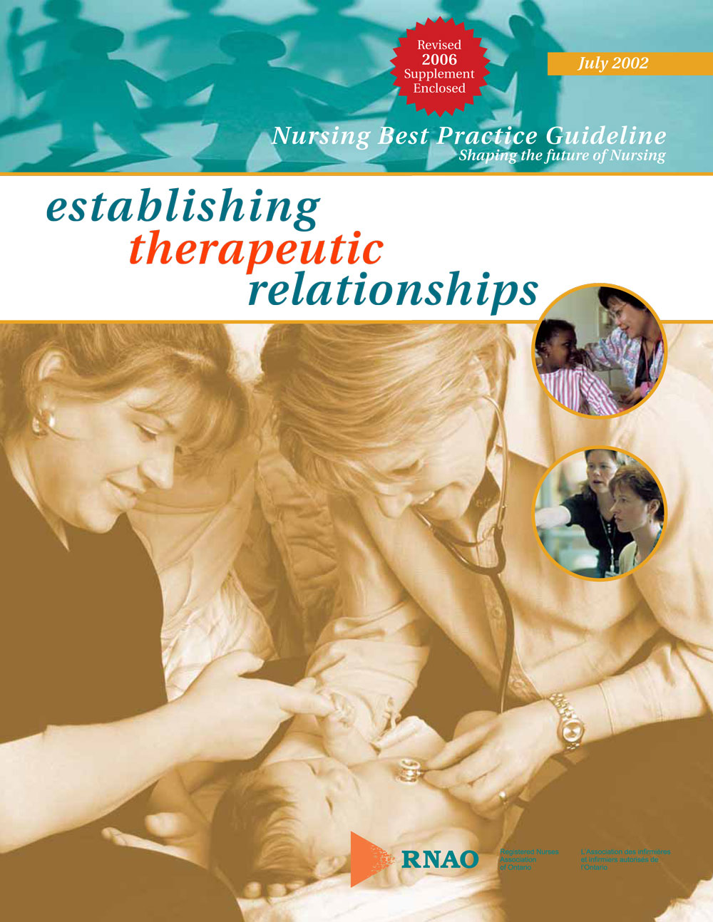 therapeutic relationship and nursing