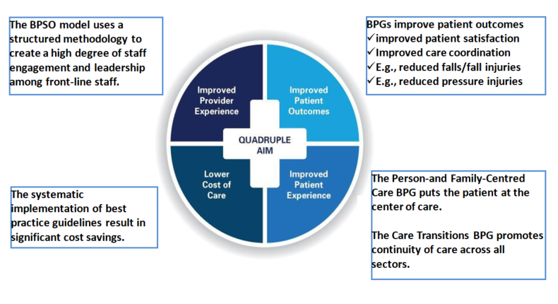 The Quadruple Aim: How the BPSO Program Supports Organizations Achieve the Quadruple Aim