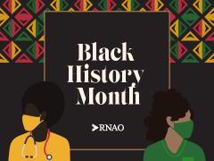 Black History Month 2021, RNAO