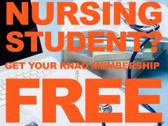 Free membership for nursing students