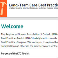 Long-Term Care Toolkit